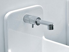 - Wall-mounted 1 hole washbasin mixer ONE | Single handle washbasin tap - CERAMICA FLAMINIA