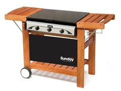 - Gas barbecue MASTER 3 - Sunday