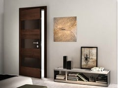 - Wenge safety door BISYSTEM | Safety door - GAROFOLI