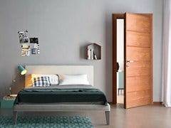- Cherry wood safety door IO | Safety door - GAROFOLI