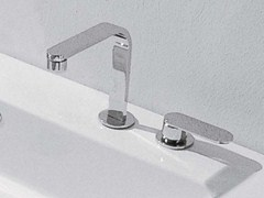 - 2 hole countertop washbasin mixer ONE | 2 hole washbasin mixer - CERAMICA FLAMINIA