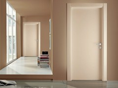 - Hinged lacquered laminate door XONDA | Lacquered door - GIDEA