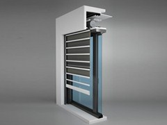 - Steel roller shutter / security bar Security bar - Sicurlim