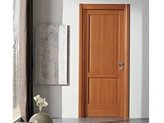 - Hinged laminate door PIRAMIDE | Cherry wood door - GIDEA