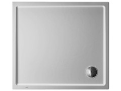 - Rectangular acrylic shower tray STARCK | 100 x 90 - DURAVIT