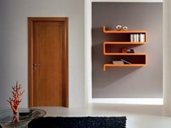 - Hinged laminate door GENIA | Cherry wood door - GIDEA