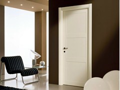 - Hinged lacquered laminate door GENIA | Lacquered door - GIDEA