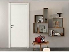 - Hinged lacquered laminate door GRAIN | Lacquered door - GIDEA