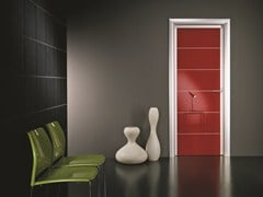 - Hinged lacquered laminate door ANTHA | Lacquered door - GIDEA