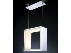 - LED Corian® pendant lamp WINDOW - Quasar