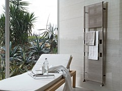 - Wall-mounted stainless steel towel warmer IXSTEEL | Stainless steel towel warmer - Tubes Radiatori