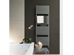 - Chrome wall-mounted towel warmer KUBIK | Chrome towel warmer - Tubes Radiatori