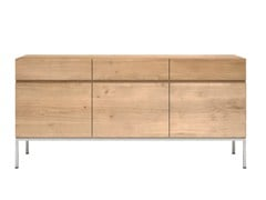 - Solid wood sideboard with doors and drawers OAK LIGNA | Sideboard - Ethnicraft