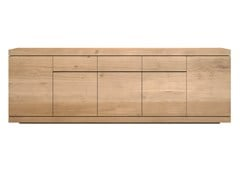 - Solid wood sideboard with doors and drawers OAK BURGER | Sideboard - Ethnicraft
