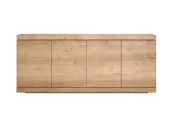 - Solid wood sideboard with doors OAK BURGER | Solid wood sideboard - Ethnicraft