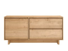 - Solid wood TV cabinet OAK WAVE | Solid wood TV cabinet - Ethnicraft