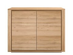 - Solid wood sideboard with doors OAK SHADOW | Sideboard - Ethnicraft