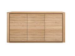 - Wooden sideboard with doors OAK SHADOW | Wooden sideboard - Ethnicraft