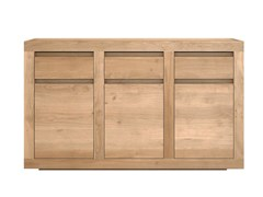 - Wooden sideboard with doors and drawers OAK FLAT | Wooden sideboard - Ethnicraft