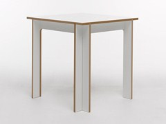 - Rectangular MDF table TABLEGROUP | Square table - Tojo Möbel