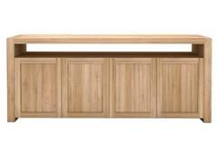 - Solid wood sideboard with doors OAK DOUBLE | Solid wood sideboard - Ethnicraft