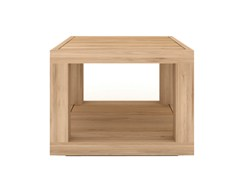 - Square solid wood coffee table OAK DUPLEX | Square coffee table - Ethnicraft