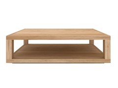 - Rectangular solid wood coffee table OAK DUPLEX | Rectangular coffee table - Ethnicraft