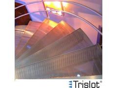 Grigliato elettrosaldato in metallo Griglie TRISLOT® - C.P. Sistemi