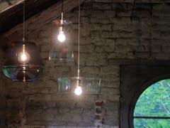 - Pendant lamp 3 X 3 X 3 | Glass pendant lamp - Hind Rabii