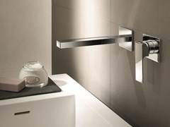 - 2 hole wall-mounted washbasin mixer MINT | Wall-mounted washbasin mixer - Fantini Rubinetti