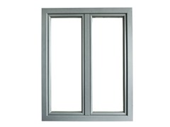 - Aluminium and wood casement window ETERNA | Window - BG legno