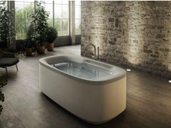 - Freestanding whirlpool bathtub MUSE | Freestanding bathtub - Jacuzzi Europe