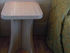 - Square bedside table for hotel rooms ZEUS | Square bedside table - MOBILSPAZIO Contract