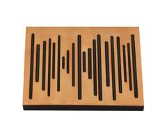 - Wood-product decorative acoustical panels WAVEWOOD PRO 60 - Vicoustic by Exhibo