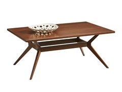 - Walnut coffee table LEONARDO | Coffee table for living room - SELVA