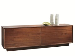 - Wooden sideboard with coplanar doors LEONARDO | Sideboard with coplanar doors - SELVA