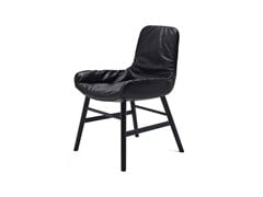 - Leather chair LEYA ARMCHAIR LOW | Chair - FREIFRAU