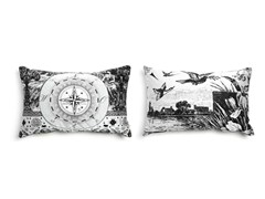 - Rectangular fabric sofa cushion HERITAGE 1 - Moooi©