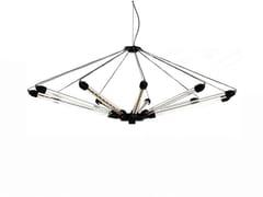 - LED direct-indirect light aluminium pendant lamp KROON 11 - Moooi©