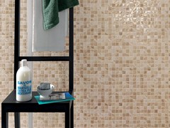 - White-paste mosaic EMPREINTE Ekrù - Impronta Ceramiche by Italgraniti Group