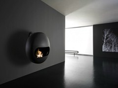 - Carbon steel fireplace BUBBLE | Bioethanol fireplace - ANTRAX IT radiators & fireplaces