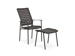 - High-back garden chair with armrests NIZZA | High-back chair - FISCHER MÖBEL