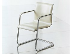 - Cantilever leather reception chair KX EXECUTIVE | Reception chair - FANTONI