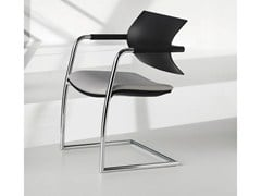 - Cantilever reception chair with armrests VANILLA HOSPITALITY | Cantilever chair - FANTONI