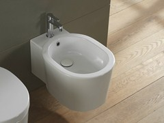 - Wall-hung ceramic bidet BUCKET | Wall-hung bidet - Scarabeo Ceramiche