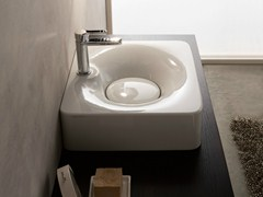 - Ceramic washbasin FUJI | Ceramic washbasin - Scarabeo Ceramiche