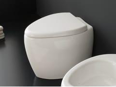 - Ceramic toilet MOAI | Toilet - Scarabeo Ceramiche