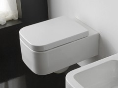 - Wall-hung ceramic toilet NEXT | Wall-hung toilet - Scarabeo Ceramiche
