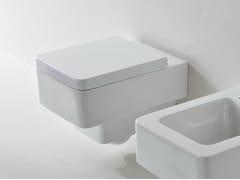 - Wall-hung ceramic toilet TEOREMA   Toilet - Scarabeo Ceramiche