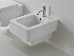 - Wall-hung ceramic bidet TEOREMA | Bidet - Scarabeo Ceramiche